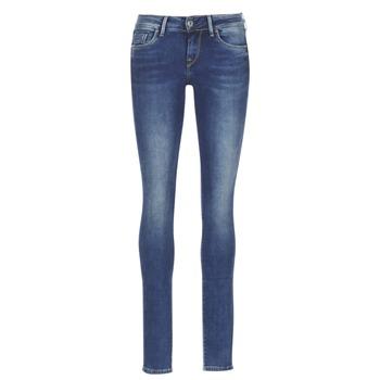 Îmbracaminte Femei Jeans skinny Pepe jeans SOHO Albastru / Medium
