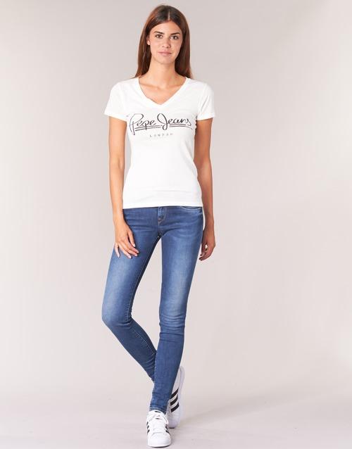 Îmbracaminte Femei Jeans skinny Pepe jeans SOHO Z63 / Albastru / Medium