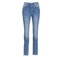 Îmbracaminte Femei Jeans slim Pepe jeans GLADIS Ga7 / Albastru / LuminoasĂ