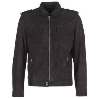 Îmbracaminte Bărbați Jachete din piele și material sintetic Pepe jeans NARCISO Negru