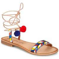 Încăltăminte Femei Sandale și Sandale cu talpă  joasă Lola Espeleta EDWINA Albastru
