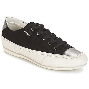 Încăltăminte Femei Pantofi sport Casual Geox D N.MOENA D - SCAM.STA+VIT.CER Negru