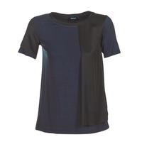Îmbracaminte Femei Tricouri mânecă scurtă Armani jeans DRANIZ Albastru / Negru