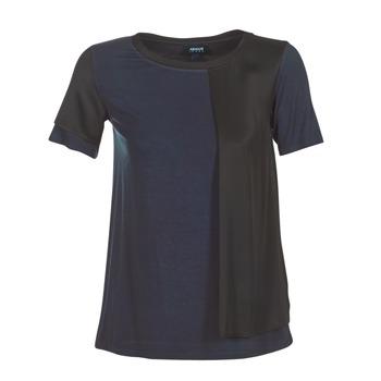 Îmbracaminte Femei Tricouri mânecă scurtă Armani jeans DRANIZ Bleumarin / Negru