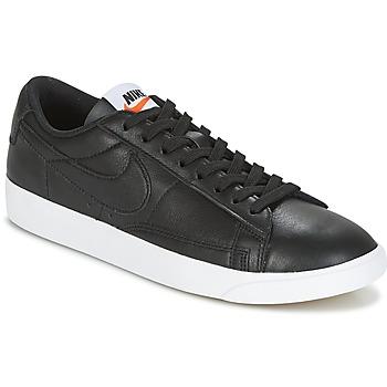 Pantofi Femei Pantofi sport Casual Nike BLAZER LOW LEATHER W Negru
