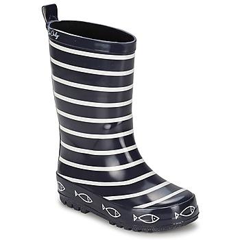 Pantofi Copii Cizme de ploaie Be Only TIMOUSS Bleumarin