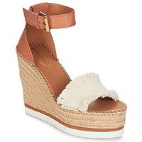 Pantofi Femei Espadrile See by Chloé SB28152 Coniac / Bej