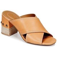 Pantofi Femei Papuci de vară See by Chloé SB30083 Camel