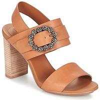 Încăltăminte Femei Sandale și Sandale cu talpă  joasă See by Chloé SB30123 Camel
