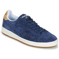 Pantofi Bărbați Pantofi sport Casual Diadora GAME LOW SUEDE Albastru