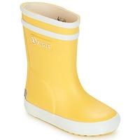 Pantofi Copii Cizme de ploaie Aigle BABY FLAC Galben