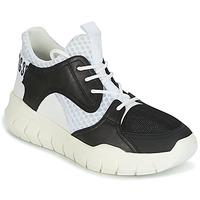 Pantofi Bărbați Pantofi sport Casual Bikkembergs FIGHTER 2022 LEATHER Negru / Alb