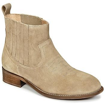 Pantofi Fete Ghete Young Elegant People DEBBY Bej