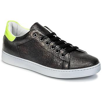 Pantofi Copii Pantofi sport Casual Young Elegant People EDEN Negru / Galben / Fluo