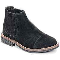 Pantofi Fete Ghete Young Elegant People FILICIA Negru