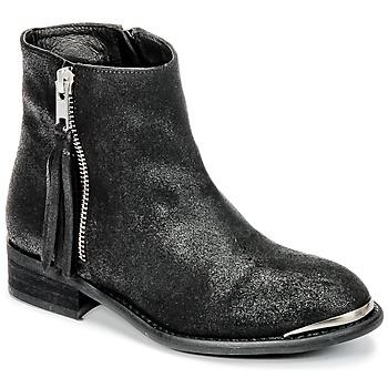 Pantofi Fete Ghete Young Elegant People AMELIA Negru