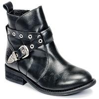 Pantofi Fete Ghete Young Elegant People CALYPSO Negru