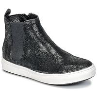 Pantofi Fete Ghete Young Elegant People CLARITA Negru