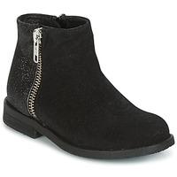 Pantofi Fete Ghete Young Elegant People FABIOLA Negru