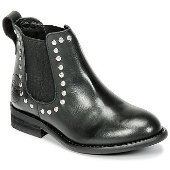 Pantofi Fete Ghete Young Elegant People FOSTINE Negru