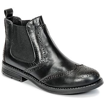 Pantofi Fete Ghete Young Elegant People JOSEPH Negru