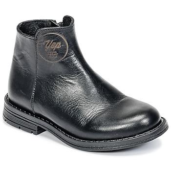 Pantofi Fete Ghete Young Elegant People IVONNE Negru
