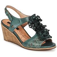 Încăltăminte Femei Sandale și Sandale cu talpă  joasă Neosens NOAH Verde