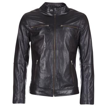 Îmbracaminte Bărbați Jachete din piele și material sintetic Casual Attitude IHEXO Negru