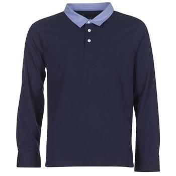 Îmbracaminte Bărbați Tricou Polo manecă lungă Casual Attitude IHEYA Albastru