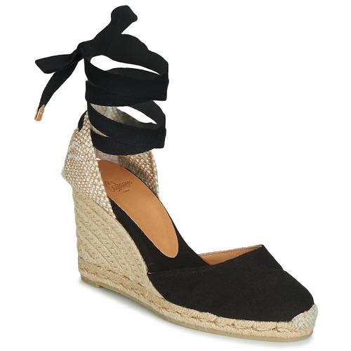 Pantofi Femei Sandale și Sandale cu talpă  joasă Castaner CARINA Negru