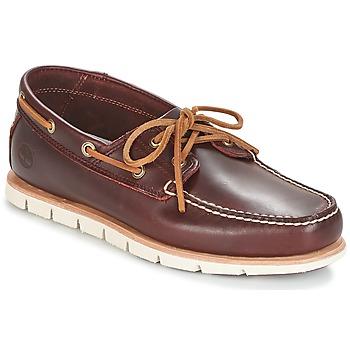Încăltăminte Bărbați Pantofi barcă Timberland TIDELANDS 2 EYE Roșu-bordeaux
