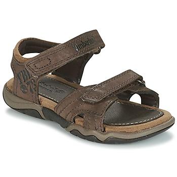 Pantofi Copii Sandale sport Timberland OAK BLUFFS Maro