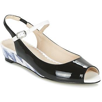 Pantofi Femei Sandale și Sandale cu talpă  joasă Mellow Yellow DALY Negru