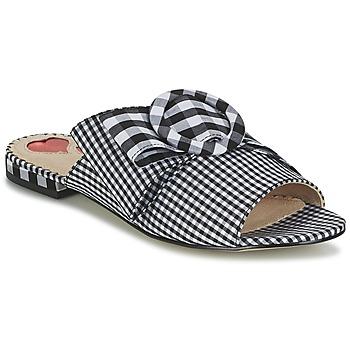 Pantofi Femei Papuci de vară Mellow Yellow DAM Negru / Vichy