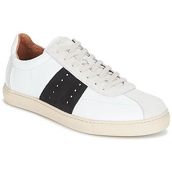 Pantofi Bărbați Pantofi sport Casual Selected SHNDURAN NEW MIX SNEAKER Alb / Bleumarin