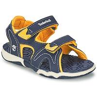 Încăltăminte Copii Sandale și Sandale cu talpă  joasă Timberland ADVENTURE SEEKER 2-STRAP SANDAL Albastru