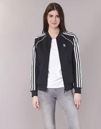 Îmbracaminte Femei Bluze îmbrăcăminte sport  adidas Originals SST TT Negru