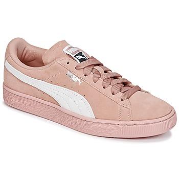 Pantofi Femei Pantofi sport Casual Puma SUEDE CLASSIC W'S Roz / Alb
