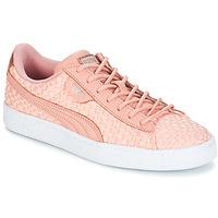 Încăltăminte Femei Pantofi sport Casual Puma BASKET SATIN EP WN'S Roz