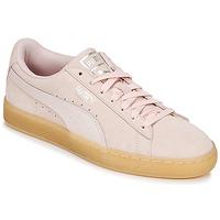 Pantofi Femei Pantofi sport Casual Puma SUEDE CLASSIC BUBBLE W'S Roz
