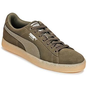 Încăltăminte Femei Pantofi sport Casual Puma SUEDE CLASSIC BUBBLE W'S Negru / Gri