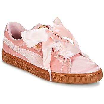 Pantofi Femei Pantofi sport Casual Puma BASKET HEART VS W'N Roz