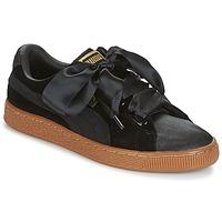 Pantofi Femei Pantofi sport Casual Puma BASKET HEART VS W'N Negru
