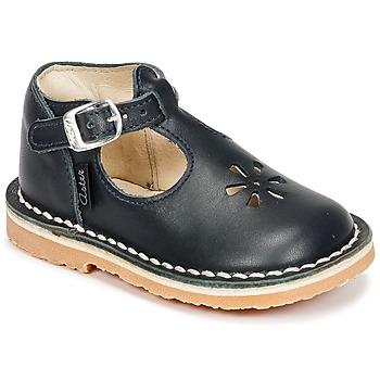 Pantofi Copii Balerin și Balerini cu curea Aster BIMBO Bleumarin