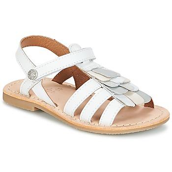 Pantofi Fete Sandale  Aster CORELLE Alb