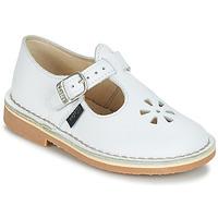 Pantofi Copii Balerin și Balerini cu curea Aster DINGO Alb