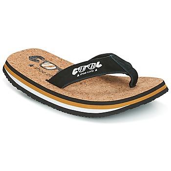 Încăltăminte Bărbați  Flip-Flops Cool shoe ORIGINAL Negru / Camel