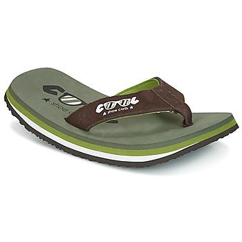 Pantofi Bărbați  Flip-Flops Cool shoe ORIGINAL Kaki / Maro