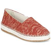 Pantofi Femei Espadrile El Naturalista SEAWEED CANVAS Roșu / Portocaliu
