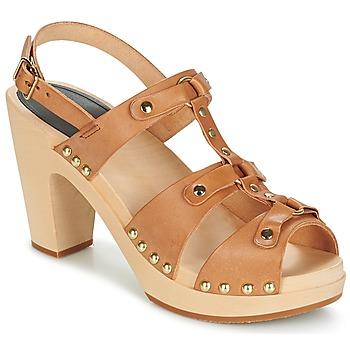 Pantofi Femei Sandale  Swedish hasbeens BRASSY Camel